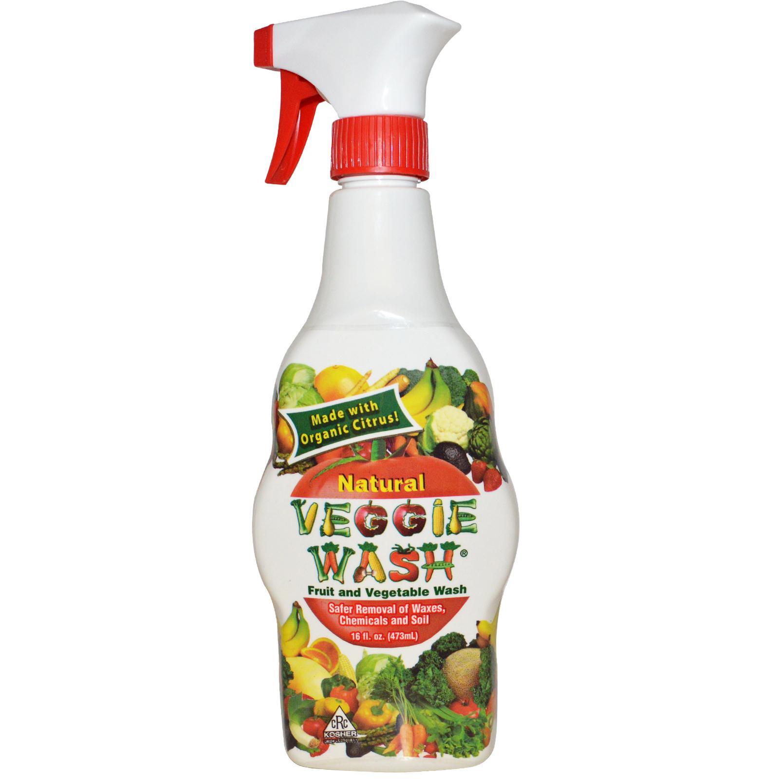 野菜専用洗剤、べジーウォッシュでワックスや農薬を洗い流そう