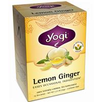 冷え性にも風邪にもYogi(ヨギティー)のレモンジンジャー