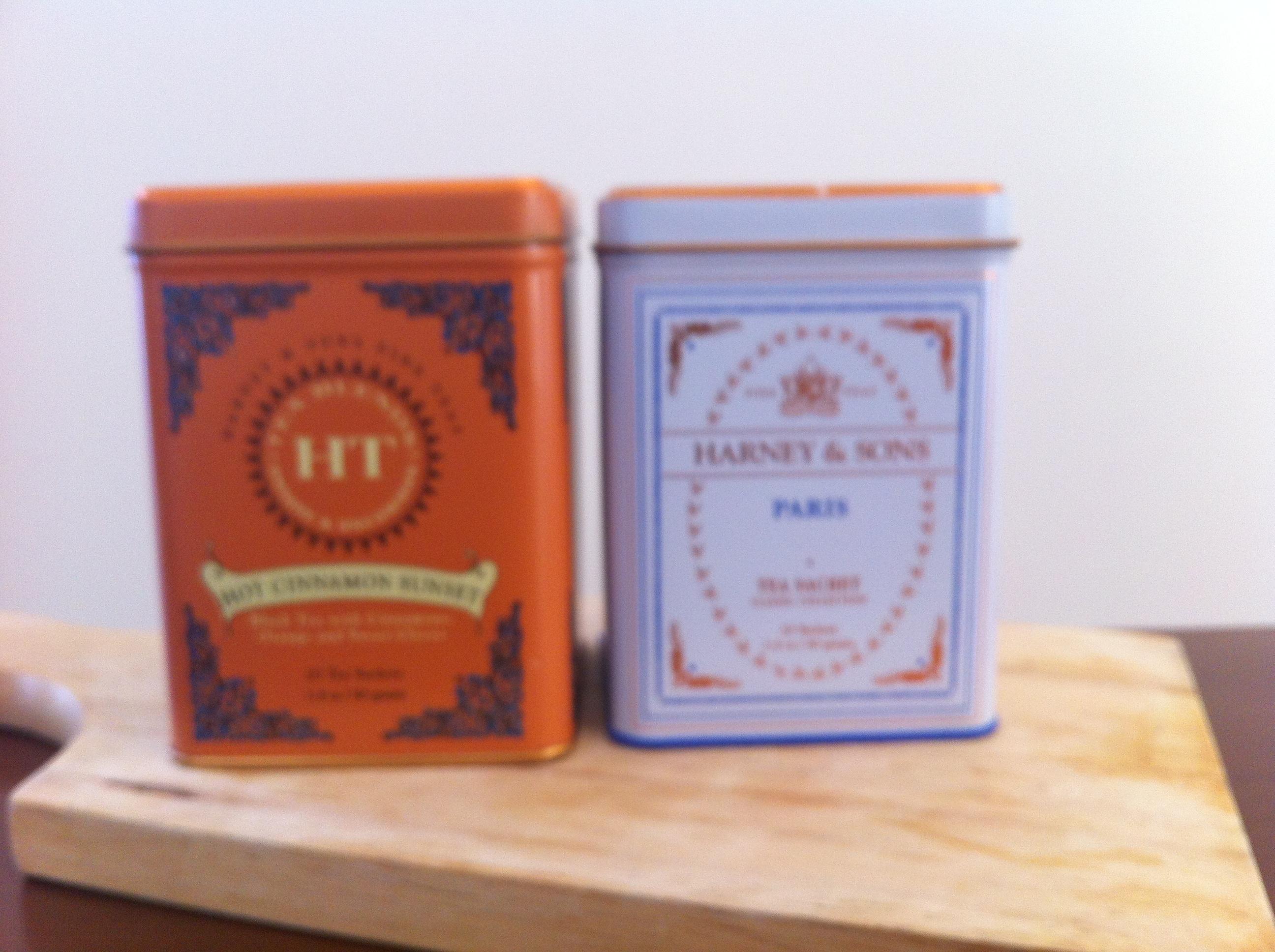 Dean&Delucaや高級ホテルでおなじみのHarney & Sons紅茶飲み比べ